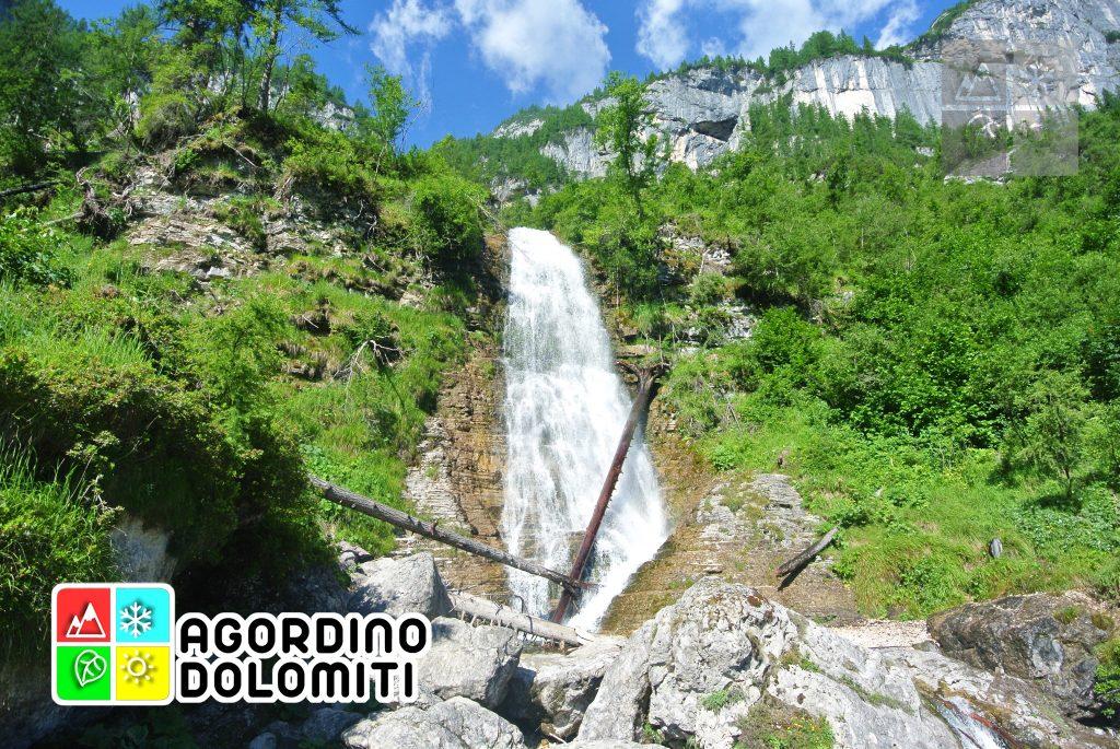 Cascata delle Comelle (cascata bassa)