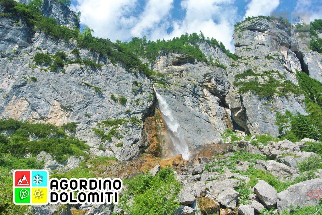 Cascata delle Comelle (cascata alta)