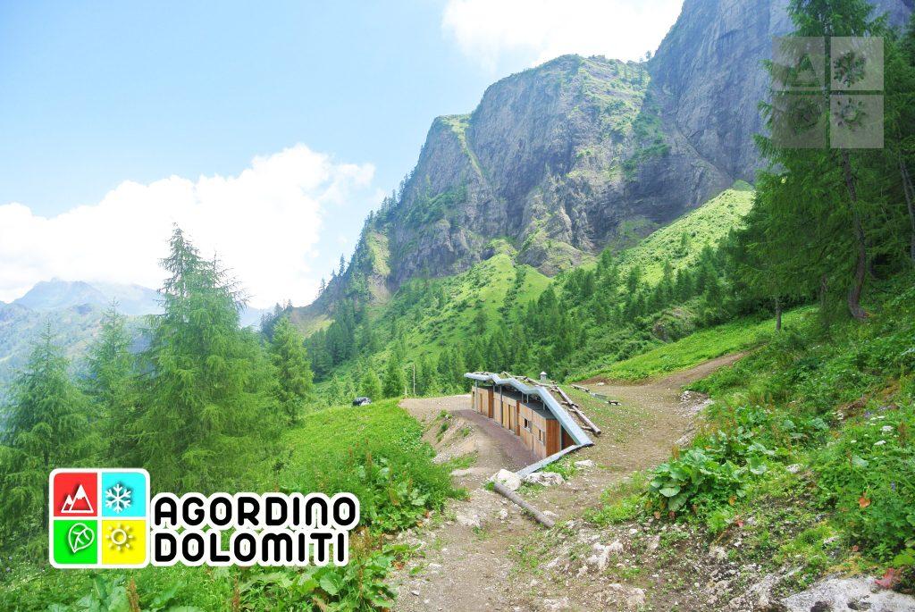El Teaz a Casera Valbona | Gares | Canale d'Agordo | Dolomiti