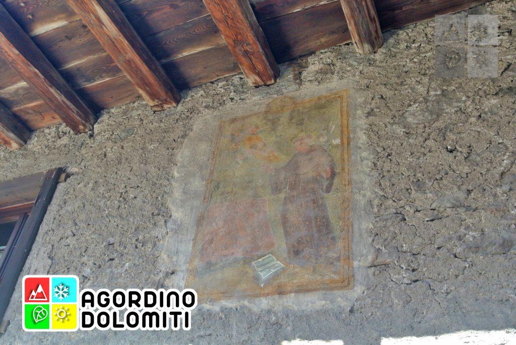 Murales del XVII Secolo a Canale d'Agordo