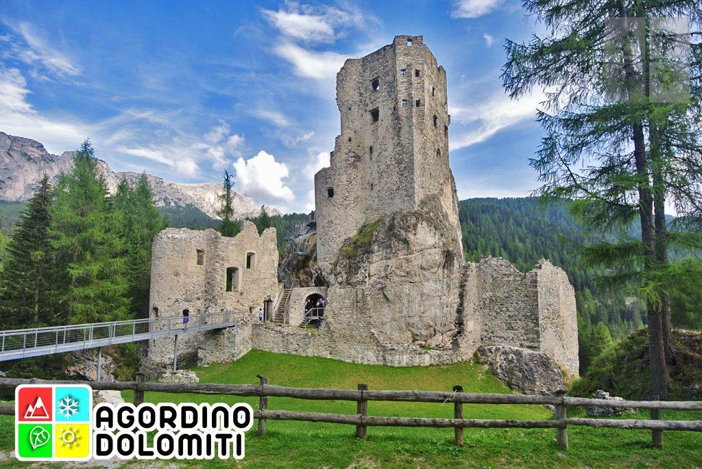 Castello di Andraz - Schloss Buchenstein, antico maniero tirolese in Agordino