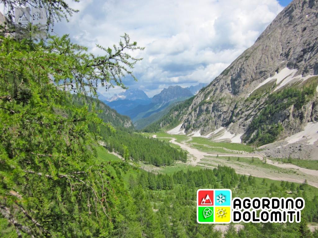 La Val Ombretta ai piedi della Marmolada
