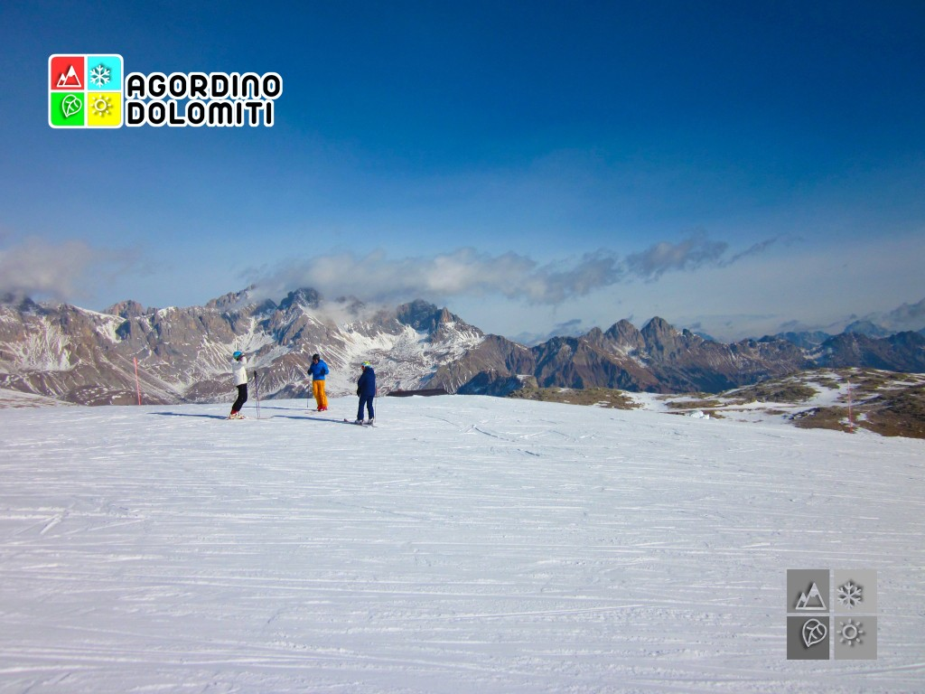 Panorama al Passo San Pellegrino