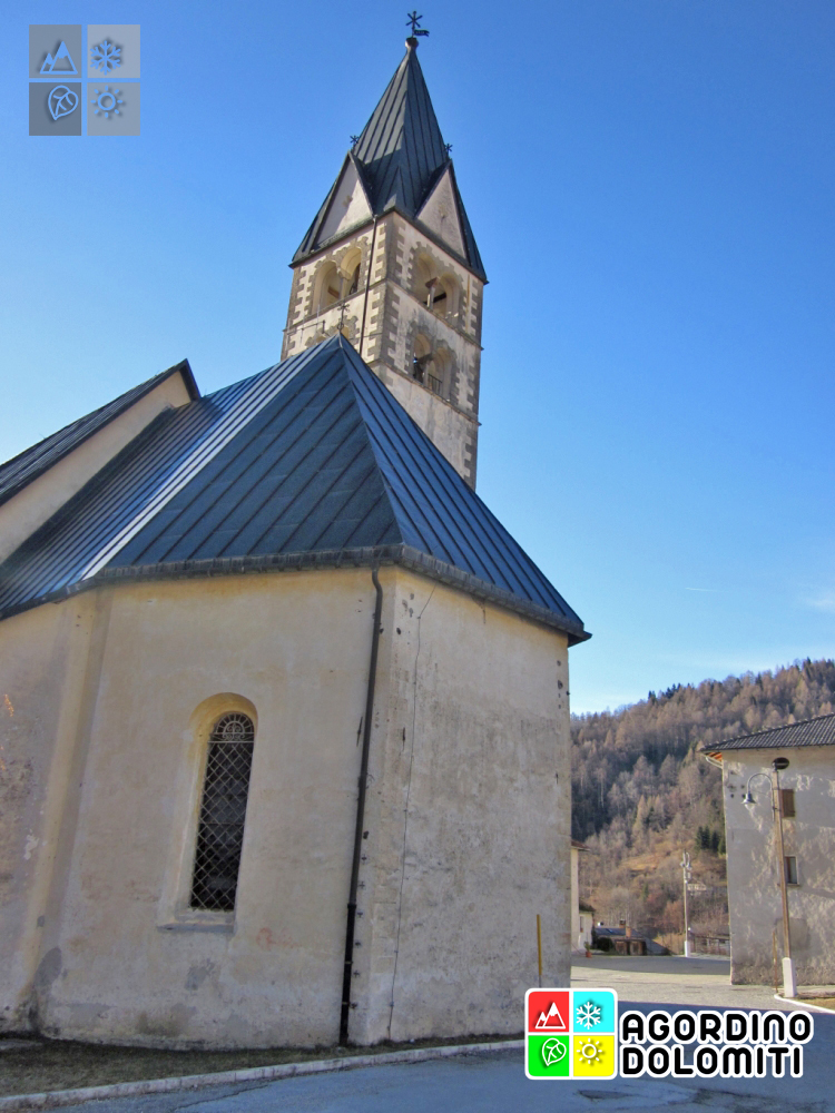 Die Kirche von La Valle