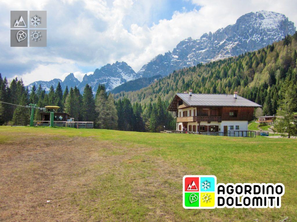Il valico di Forcella Aurine tra Voltago Agordino e Gosaldo