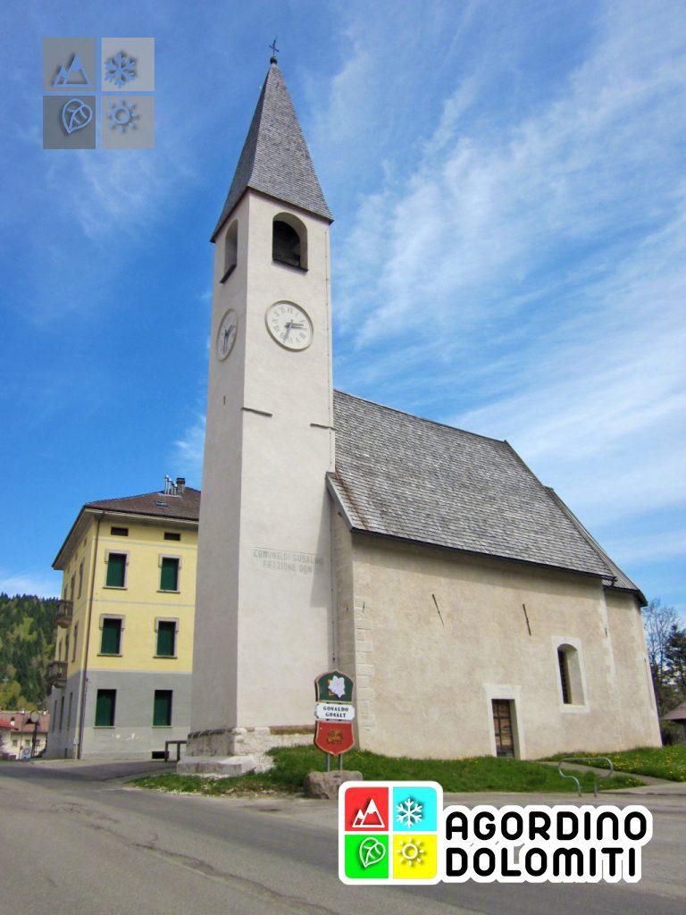 Chiesa di San Giacomo a Gosaldo