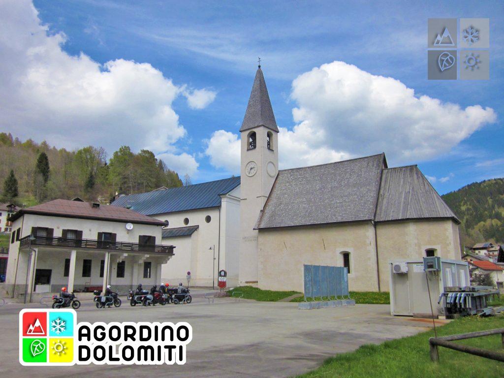 Le due chiese di Gosaldo