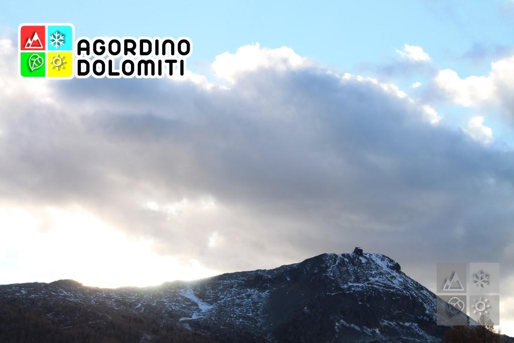 Il Col Margherita, simbolo della ski area Alpe Lusia - San Pellegrino