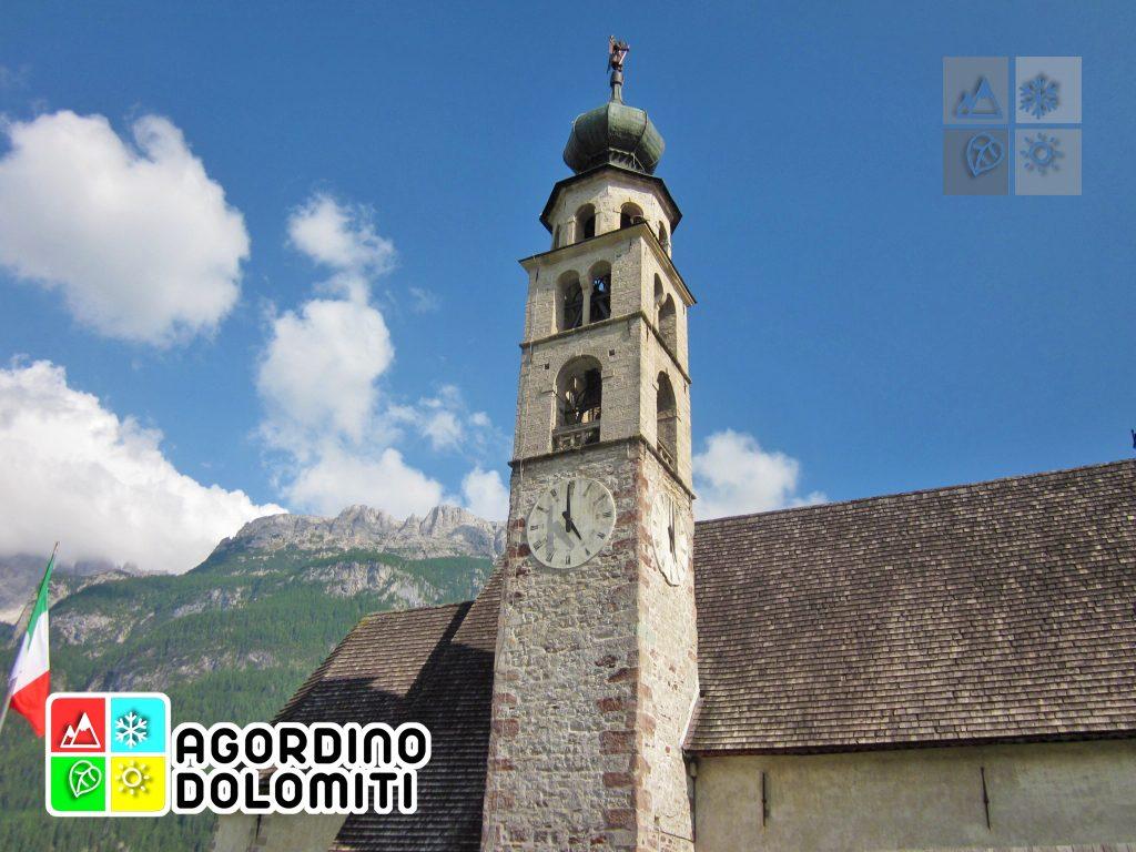 Dettaglio della chiesa di Celat