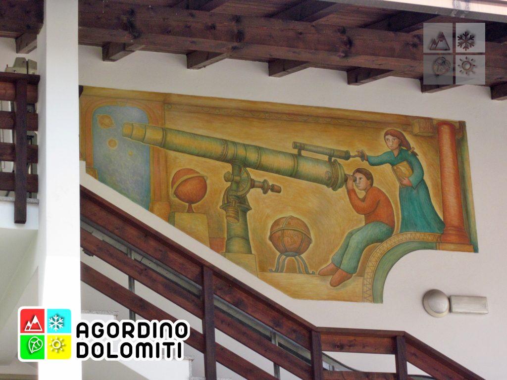 Graffito di Dunio sul Planetario di San Tomaso