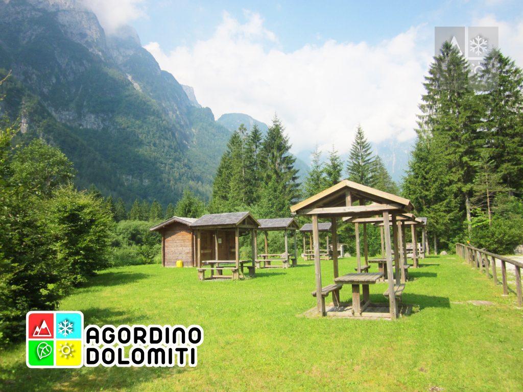 Aree picnic della Valle di San Lucano