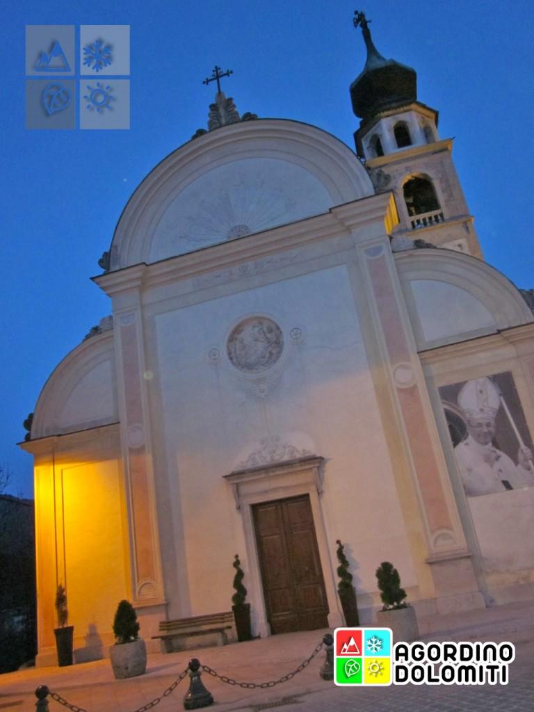 La Chisa Archipretale di San giovanni Battista a Canale d'Agordo