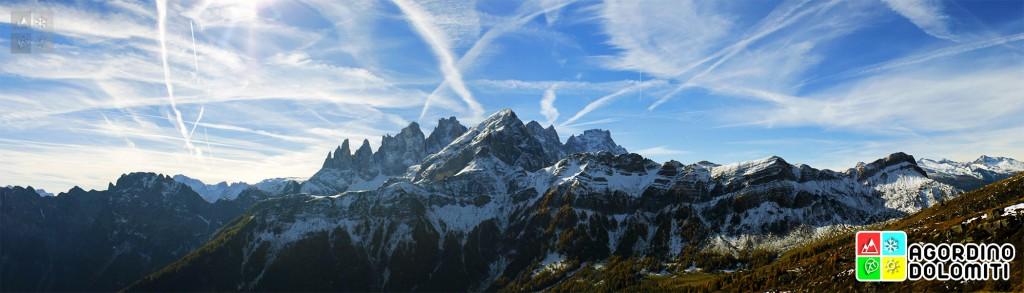 Focobon visto da ski area San Pellegrino