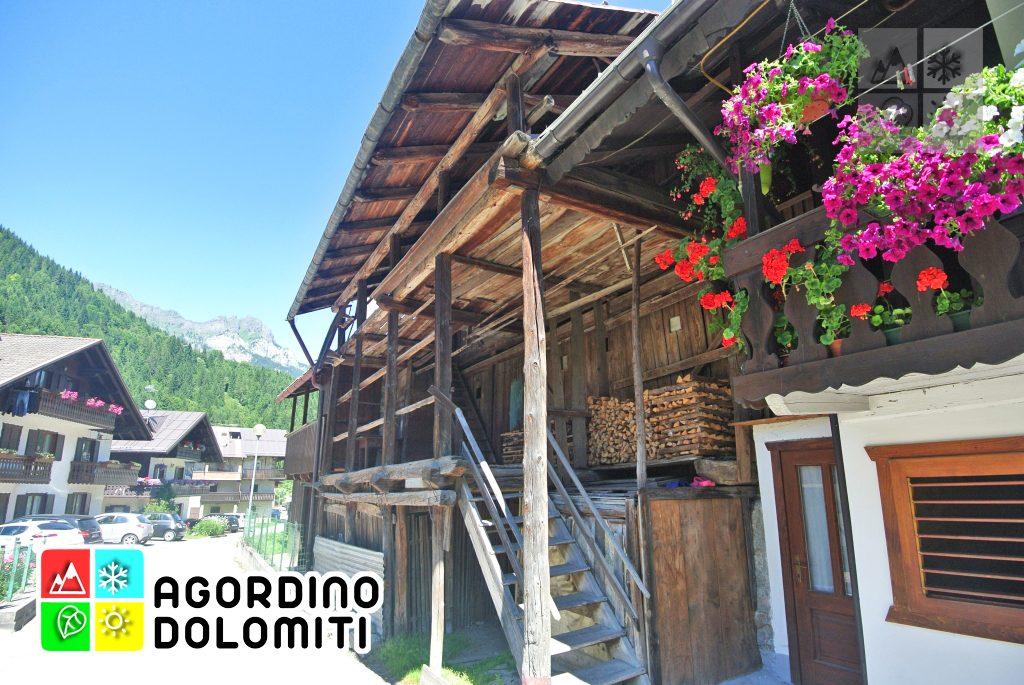 Tabià in Via Sofraide a Canale d'Agordo