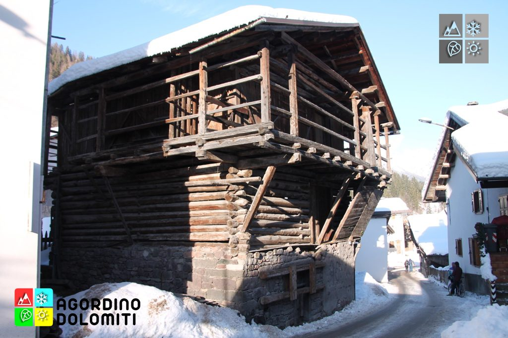 Tabià in Via VII Alpini a Falcade