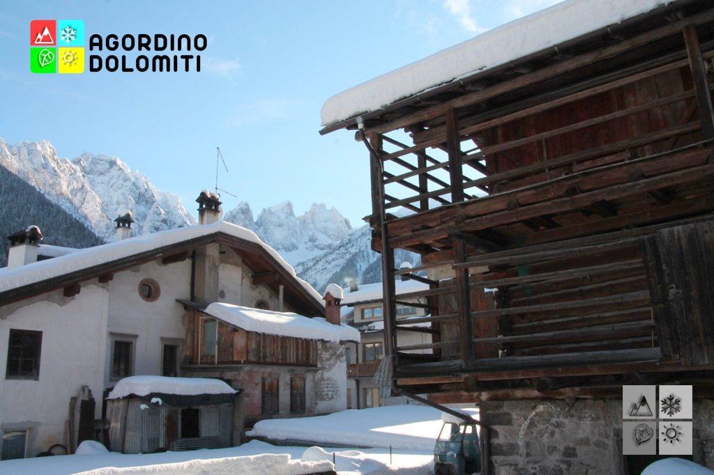 Tabià e abitazione rurale in Via Col de Rif a Falcade