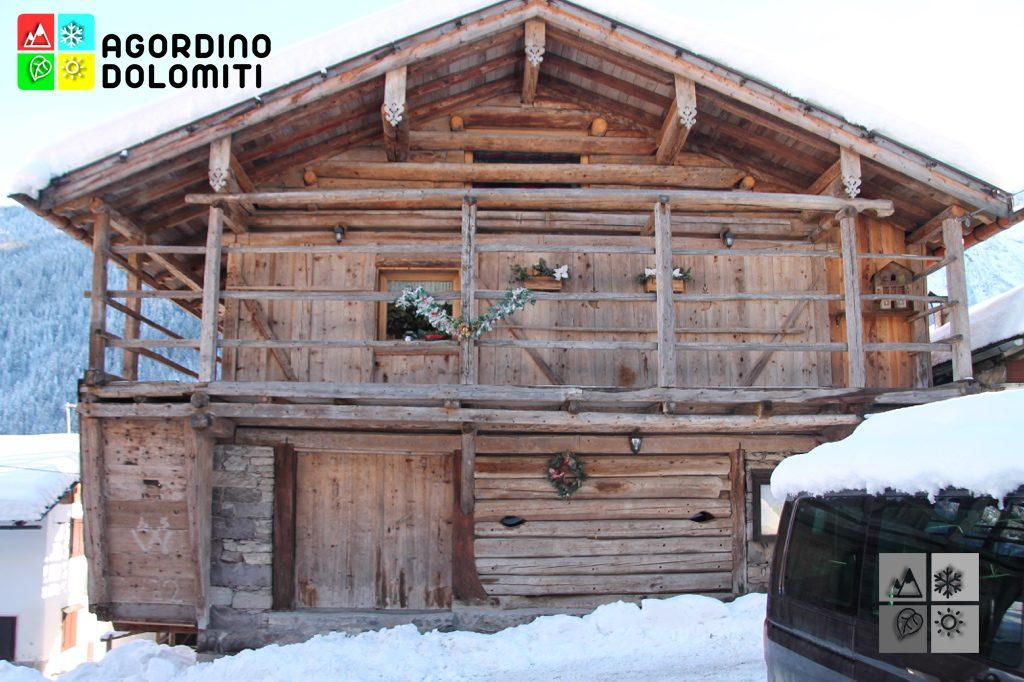 Tabià convertito in abitazione a Villotta (Falcade)