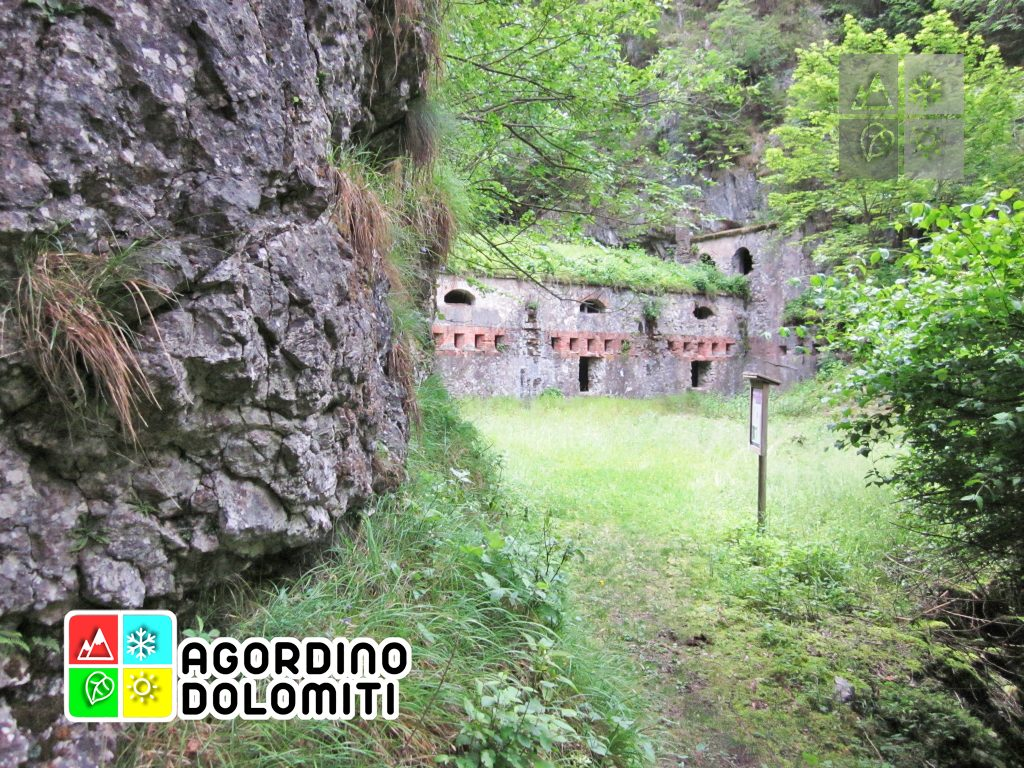 Forte dei Castei Tagliata di San Martino Dolomiti