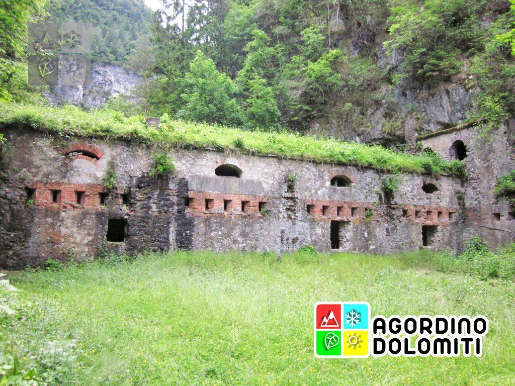 Il Forte della Tagliata di San Martino Agordo