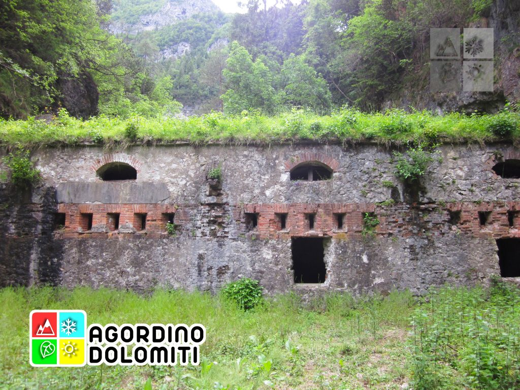 Forte dei Castei Tagliata di San Martino Agordo Dolomiti
