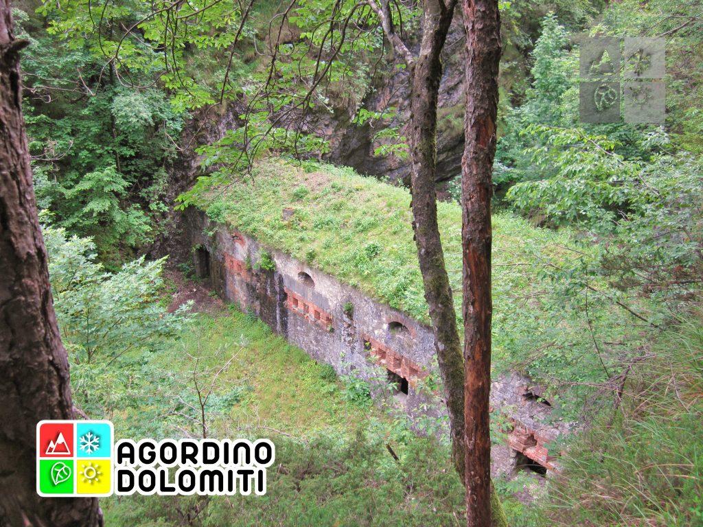Forte dei Castei Tagliata di San Martino