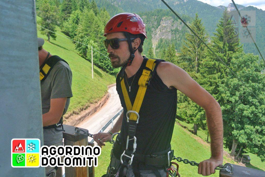 Zipline Civetta - San Tomaso Agordino - Dolomiti