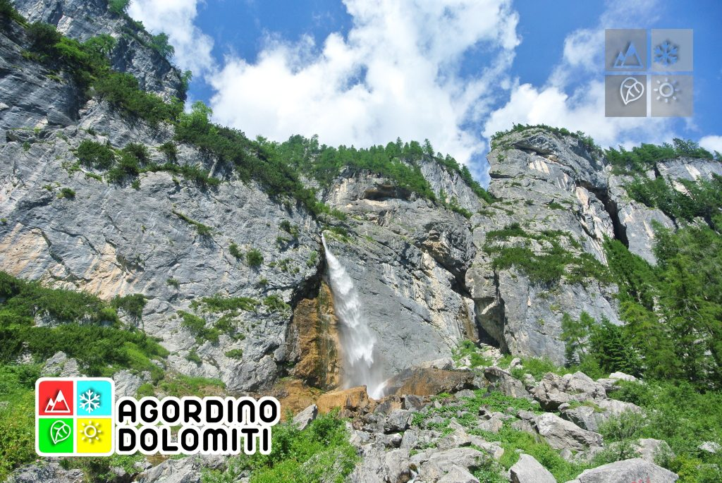 Cascata delle Comelle | Valle di Gares | Canale d'Agordo | Dolomiti UNESCO