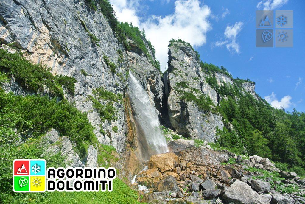 Cascata delle Comelle | Valle di Gares | Dolomiti UNESCO