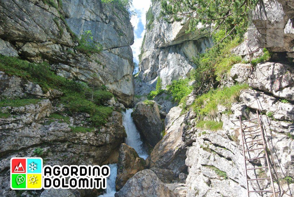 Orrido delle Comelle | Valle di Gares | Dolomiti UNESCO