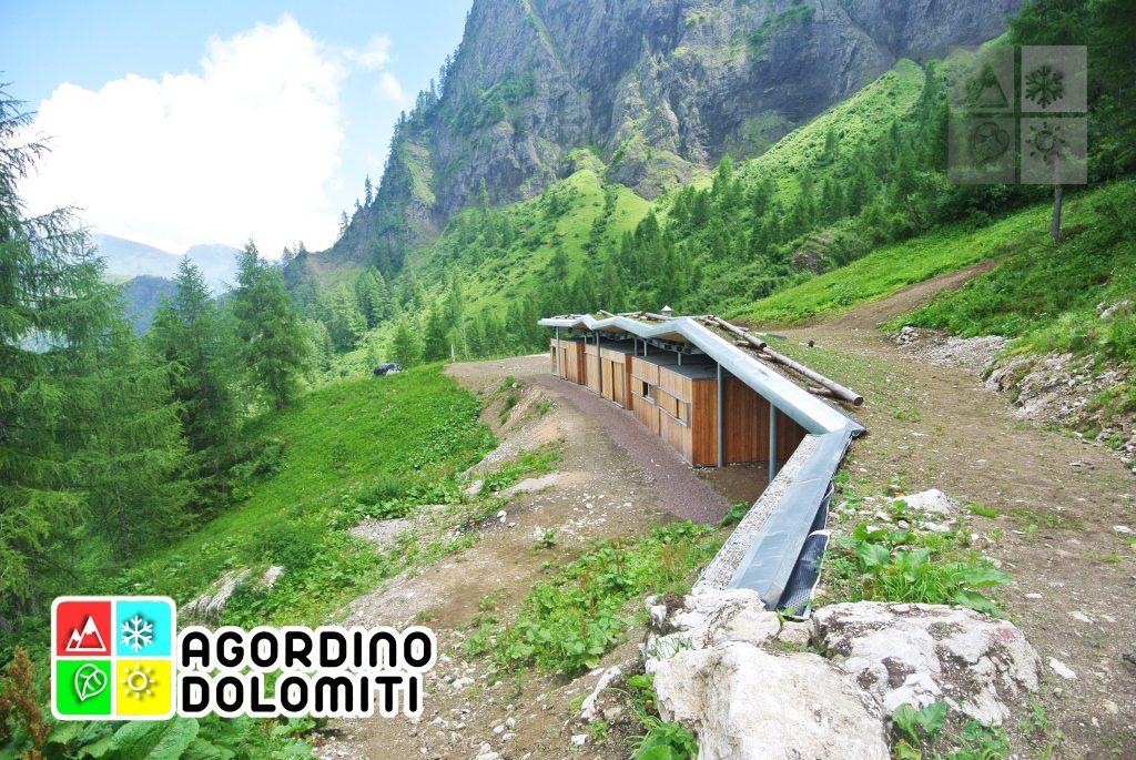 El Teaz | Casera Valbona | Valle di Gares | Canale d'Agordo | Dolomiti UNESCO