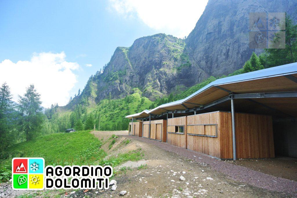 Teaz a Casera Valbona | Valle di Gares | Pale di San Martino