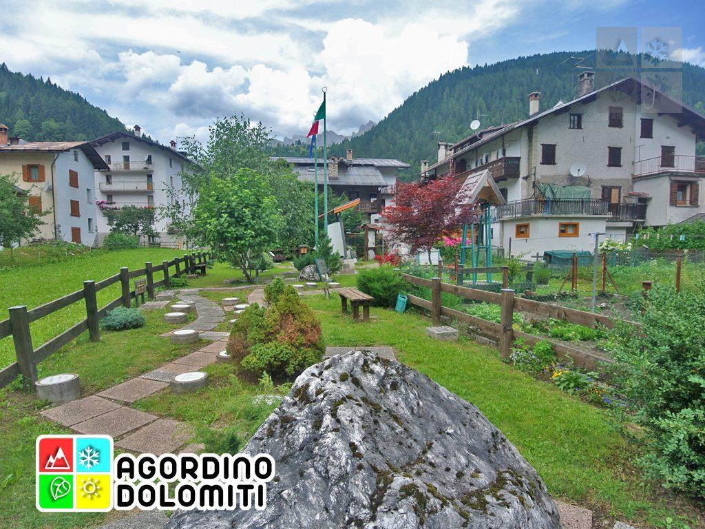 Giardino della Memoria Canale d'Agordo Dolomiti