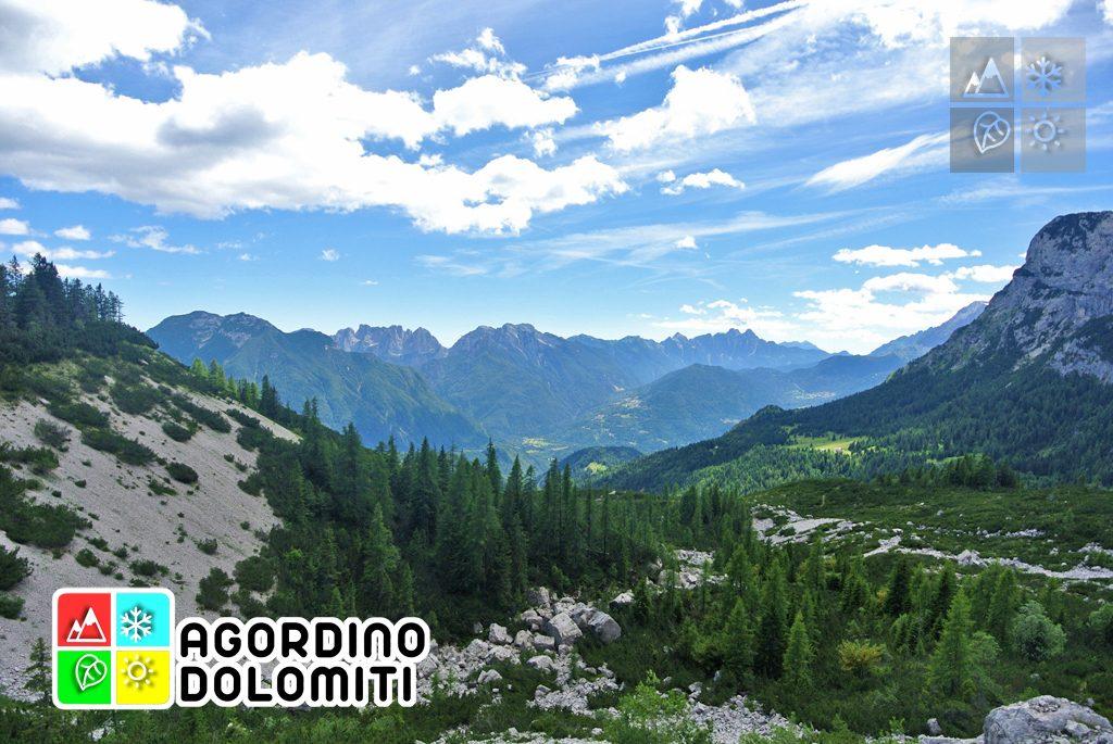 La Conca Agordina dall'Alta Via delle Dolomiti n. 1