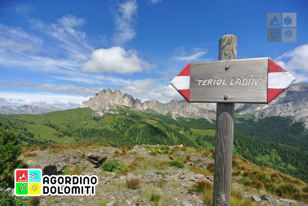 Teriol Ladin - Sentiero storico del Col di Lana | Arabba | Livinallongo del Col di Lana | Dolomiti UNESCO