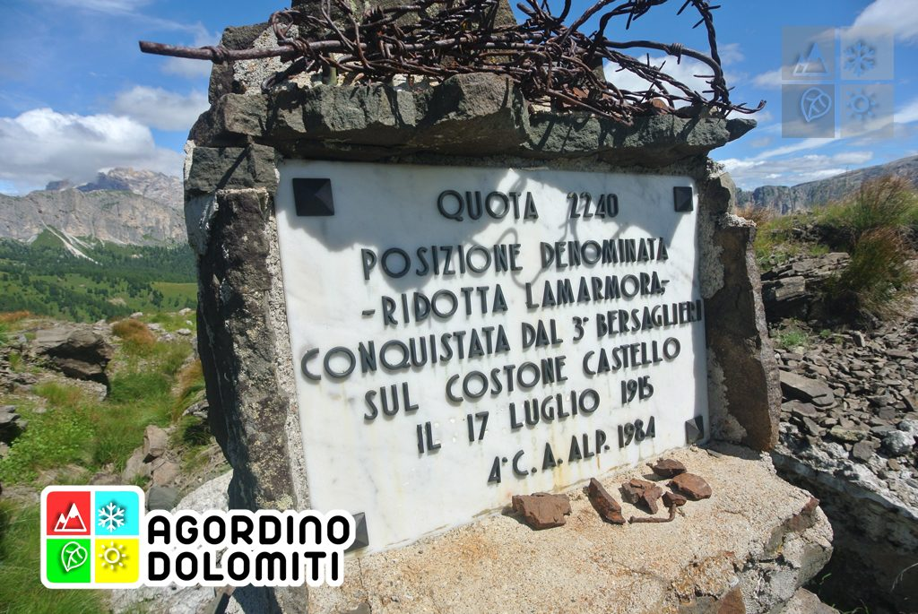 Teriol Ladin   Sentiero Storico del Col di Lana   Livinallongo del Col di Lana   Dolomiti UNESCO