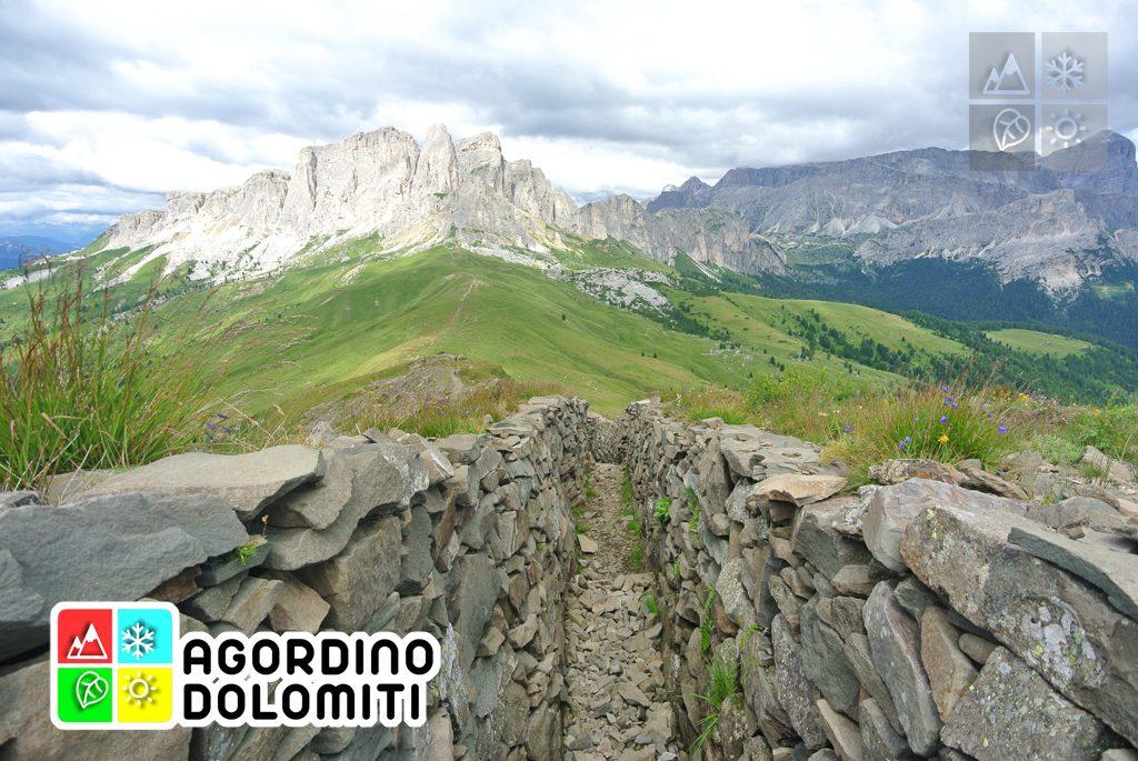 Teriol Ladin | Sentiero Storico del Col di Lana | Livinallongo del Col di Lana | Dolomiti UNESCO