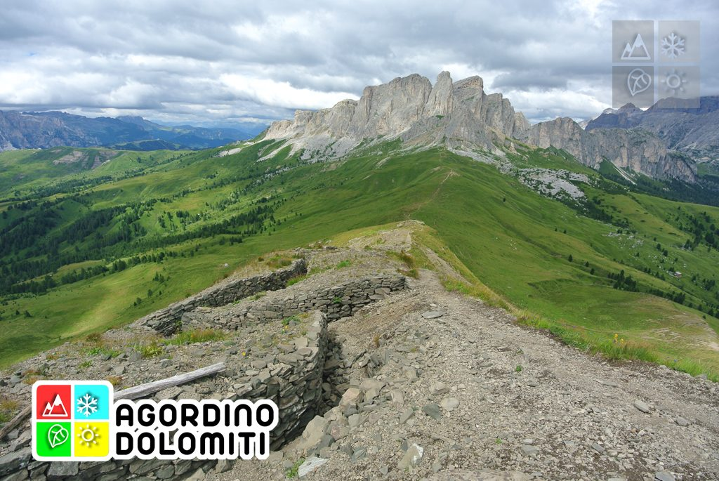 Trincee austriache e sul Monte Sief