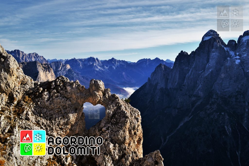 """El Cor [""""Il Cuore""""], cuore di Dolomia simbolo dell'Agordino"""