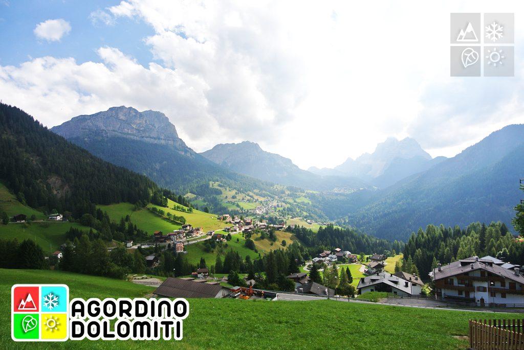 La Val Fiorentina da Colle Santa Lucia