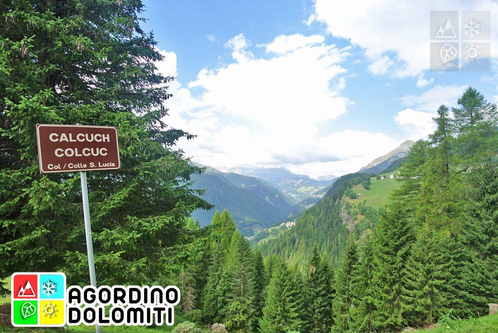 Strada da la Vena | Colle Santa Lucia - Livinallongo del Col di Lana | Dolomiti UNESCO