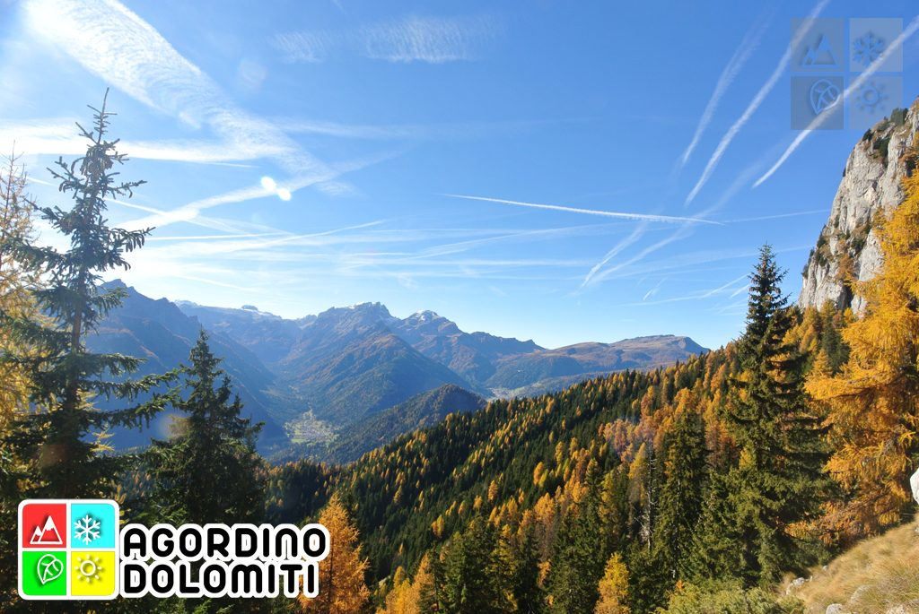 La Val Biois dal Piz Zorlet (gruppo della Marmolada)