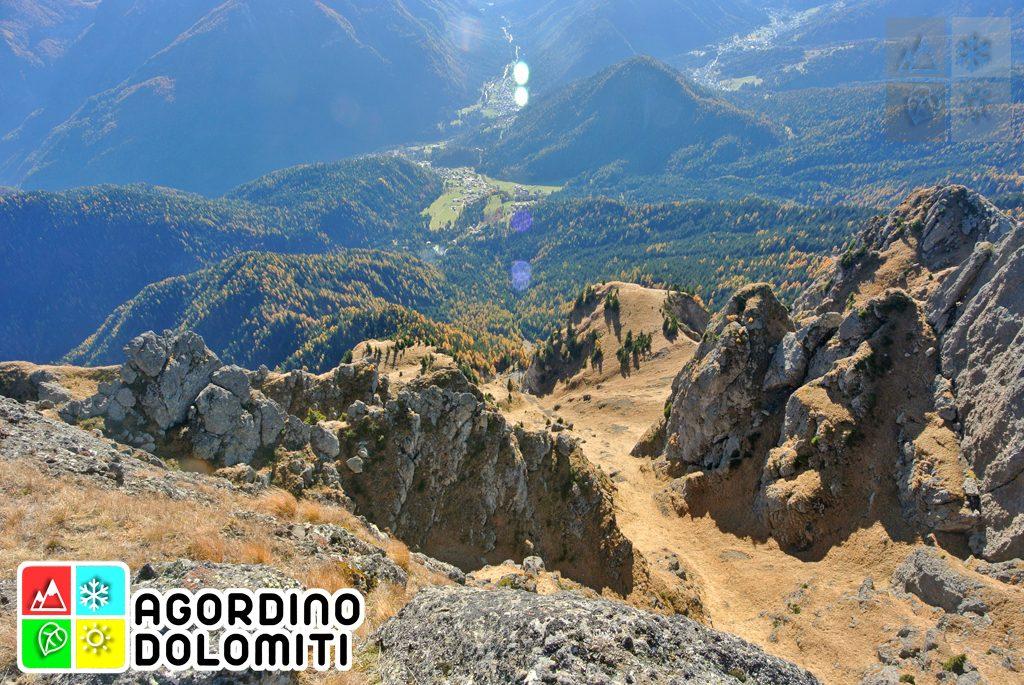Vallada Agordina dal Piz Zorled (Gruppo della Marmolada)
