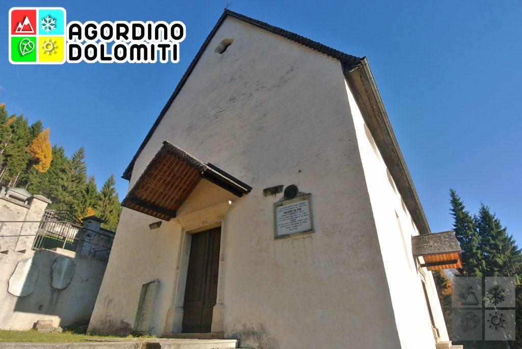 Chiesa di San Simon Vallada Agordina