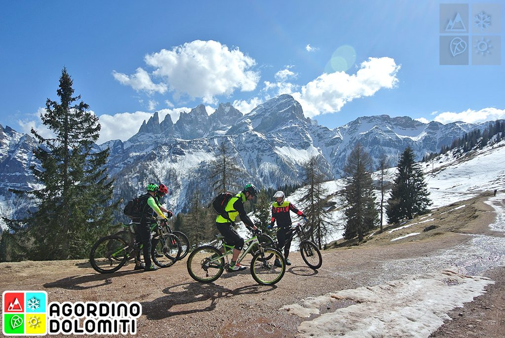 Mountain Bike in Agordino Dolomiti